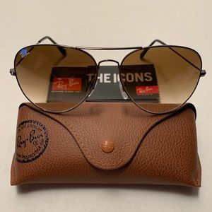 Ray-Ban Aviator Sunglasses RB3026 62-14mm 004/51